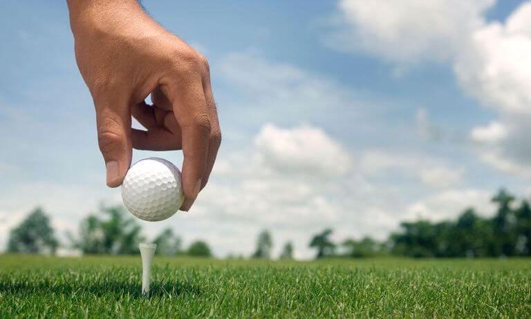 Подставка под мяч ти в гольфе